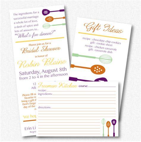 bridal shower invitations kitchen theme kitchen theme bridal shower invitation by gridcreativestudio