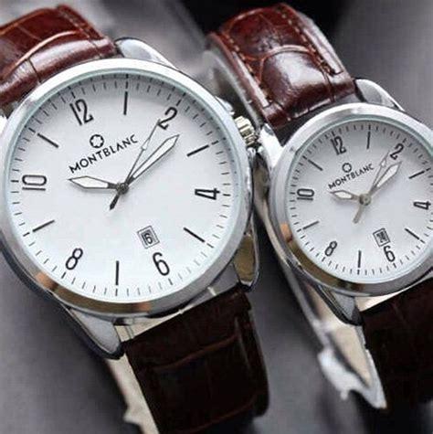 Jam Tangan Wanita Klasik F 3 Cm Coklat Tua 1 jam tangan pria dan wanita bahan kulit dan canvas banyak