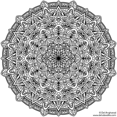mandala coloring pages difficult really mandala coloring pages coloring home