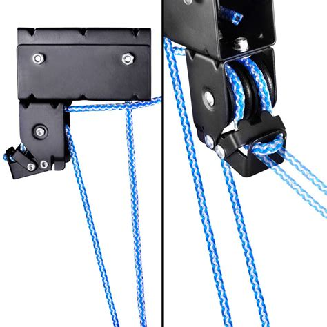 Ceiling Storage Pulley System by Oz Mall Kayak Hoist Bike Lift Pulley System Garage