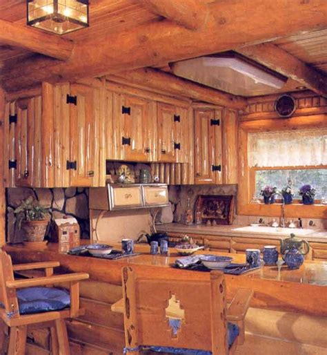 cabin kitchen cabinets log kitchen cabinets priscilla s palace pinterest