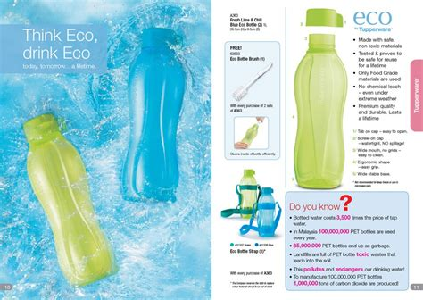 Tupperware Fresh Lime Collection think eco drink eco tupperware malaysia