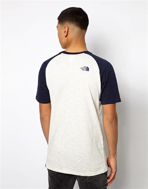 Raglan World Cup 02 Ordinal Apparel the tshirt with contrast raglan sleeves in blue for lyst