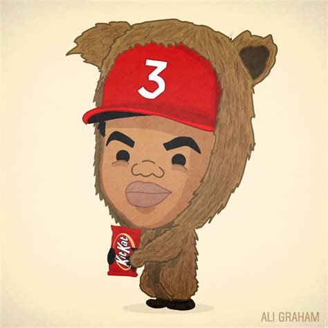 coloring book chance the rapper liner notes lil ye