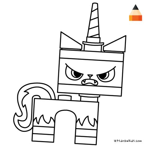 unikitty lego coloring page how to draw unikitty angry unikitty unikitty coloring