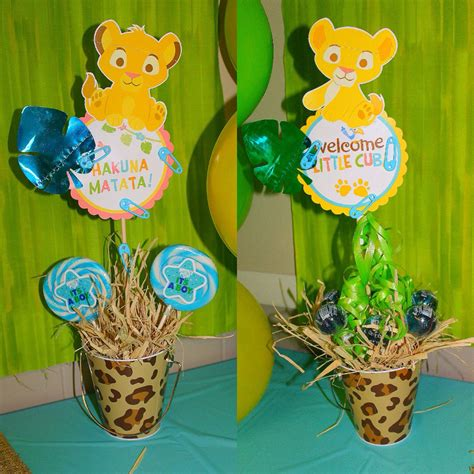 King Baby Shower Decoration Ideas by Hakuna Matata King Baby Shower Perfection