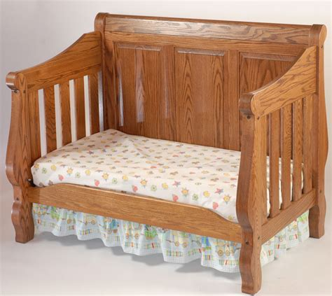 Raising Crib Mattress Heirloom Crib Ohio Hardword Upholstered Furniture