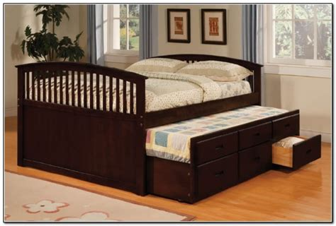 trundle bed size with size size bed with trundle beds home design ideas