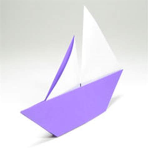 Origami Sailing Boat - easy origami
