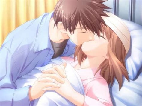 anime couple in bed new to this planet called bluemoon printable version