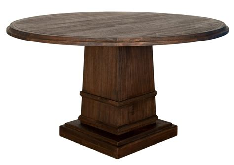 Hudson Dining Table Hudson 60 Quot Dining Table With Column Base Zin Home