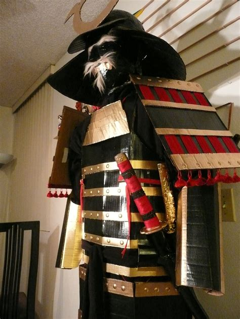 How To Make A Samurai Helmet Out Of Paper - cardboard samurai armor 2 by makinstuffoutofstuff on