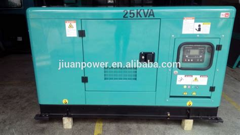 20kw 25kva power silent electric diesel generator mikano