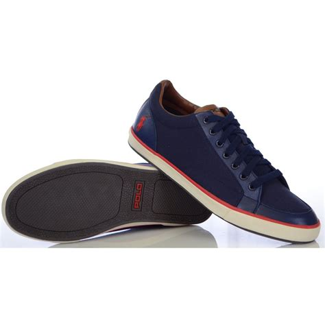 ralph shoes ralph shoes norwood newport navy canvas trainer