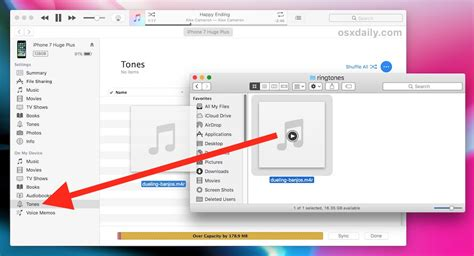 devices section in itunes how to copy ringtones to iphone or ipad in itunes 12 7