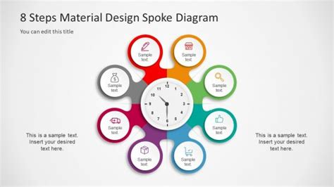 10 step circular diagram style for powerpoint slidemodel diagrams for powerpoint