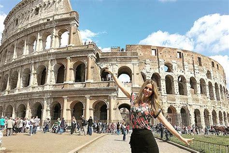 imagenes vacaciones en roma edurne disfruta de unas vacaciones en roma mujeralia