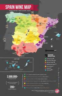 Spain Wine Map 7 styles of spanish red wine wine folly