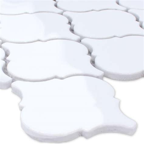 florentiner fliesen mosaik fliesen keramik florentiner weiss gl 228 nzend ebay