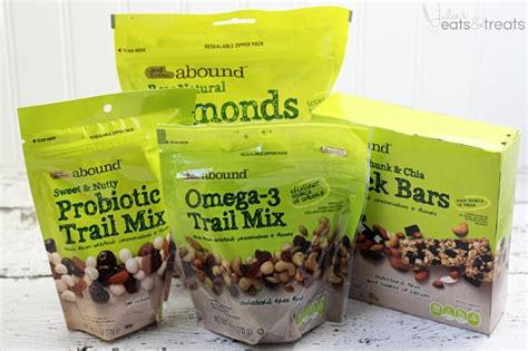 abound food reviews easy snacks for work with gold emblem abound julie s eats treats