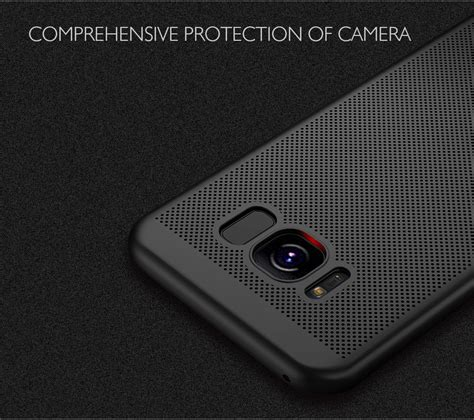 Samsung Galaxy S8 Fc Barcelona Spain Hardcase Casing Cover mesh dissipating heat anti fingerprint pc for samsung galaxy s8 sale banggood