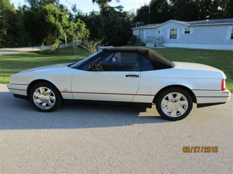 best car repair manuals 1992 cadillac allante windshield wipe control 1992 cadillac allante 82k original miles w hard top more