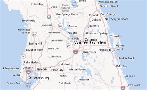 Winter Garden Fl by Winter Garden Weather Station Record Historical Weather