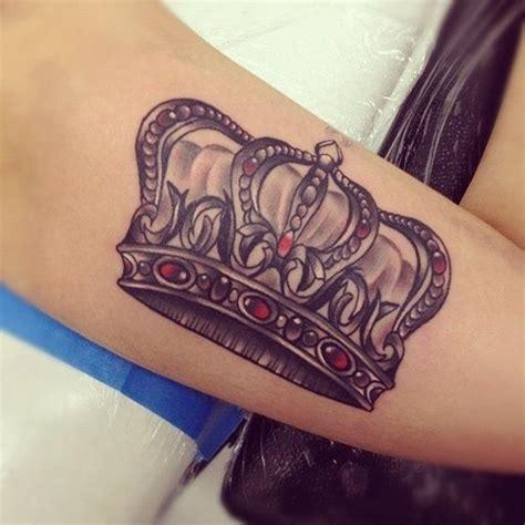 diamond tattoo with initials 30 dashing crown tattoo designs