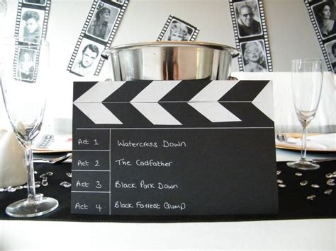 Hollywood Themed Names | 17 best images about hollywood dinner party on pinterest