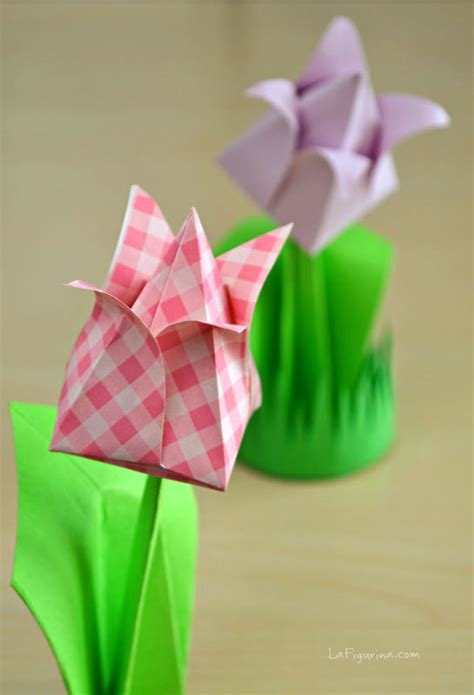 fiori origami tutorial come fare un segnaposto origami tutorial la figurina