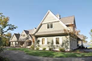 Wisconsin Front Door Housing Custom Home Door County Wi Traditional Exterior Other Metro By S Lumber Custom