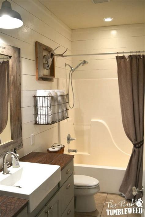 idea for bathroom rustic farmhouse bathroom ideas hative