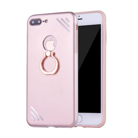 new luxury metal ring holder stand back cover for iphone 6 6s 7 7 plus