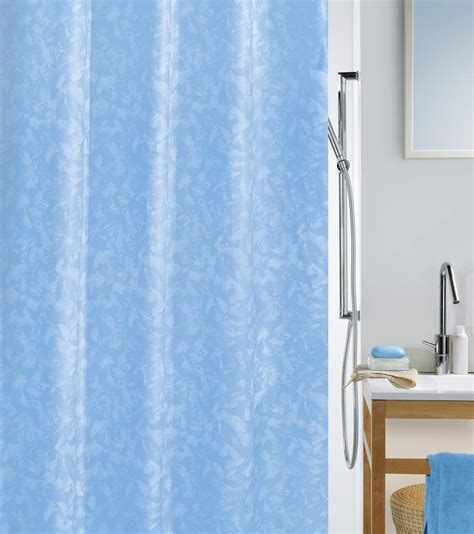 spirella shower curtain spirella porto textile shower curtain clevershower
