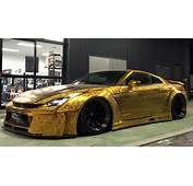 Have You Checked Out This $1 Mn Gold Plated Car In Dubai