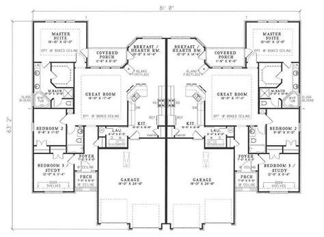 house plan dhsw077565 multi family plans houseplans com multi family house