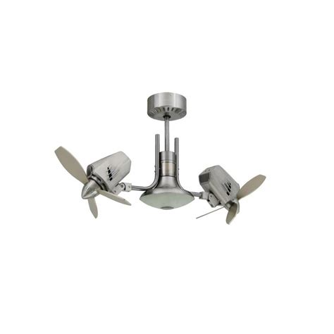 ceiling fan with double oscillating troposair mustang ii 18 in dual motor oscillating indoor