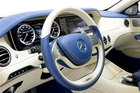 brabus mercedes s63 amg with blue interior