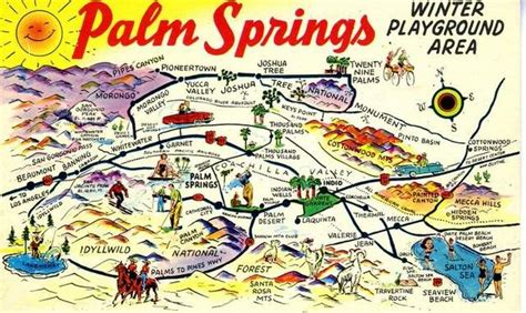 printable area postcard there s more to palm springs than golf weird wild and