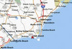 oak island carolina map directions to oak island margaret rudd associates