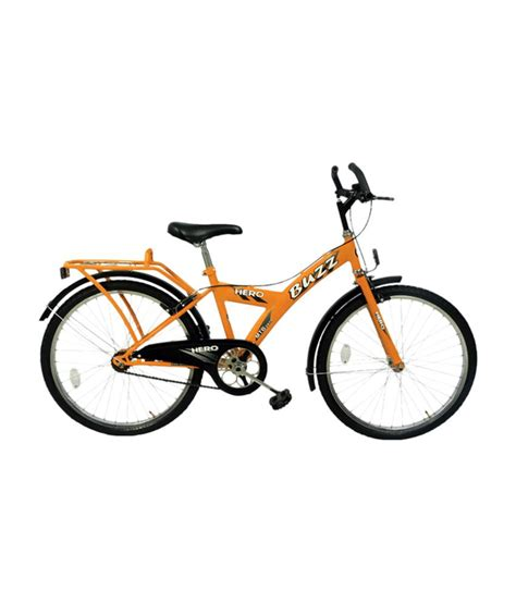 hero on a bicycle hero buzz 24 bicycle red buy online at best price on snapdeal