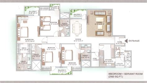 lotus boulevard floor plan lotus boulevard espacia floor plan 4bhk 2560 sq ft