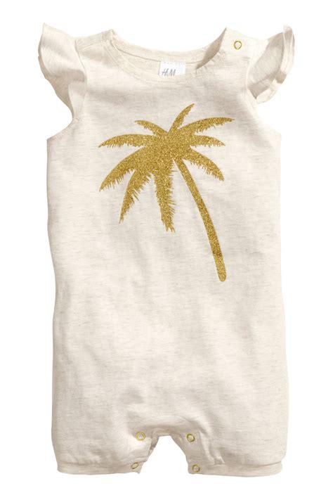 Jumpsuit Next Bean 3 In 1 Size 6m jersey jumpsuit light beige melange sale h m us