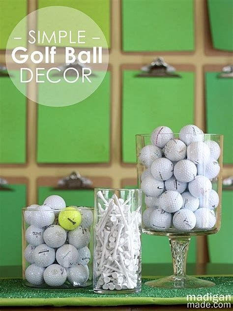 golf themed decorating ideas golf bocce last minute s day ideas