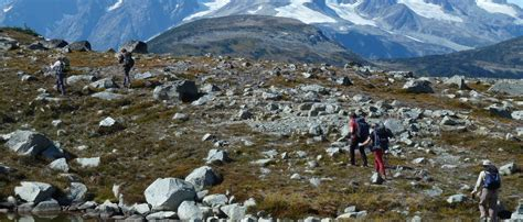 best hiking trips guided hiking trips in columbia with yoho