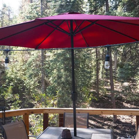 pure garden aluminum patio umbrella review simple