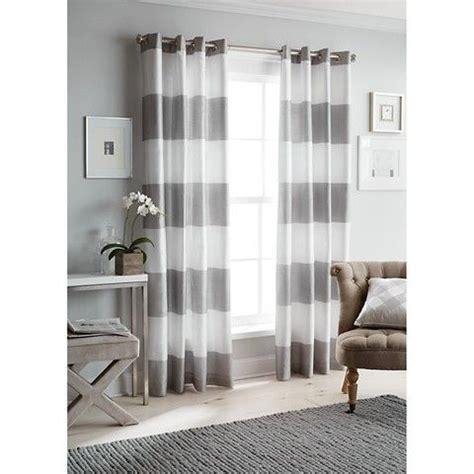 bold striped curtains threshold bold stripe curtain panel inspired decor