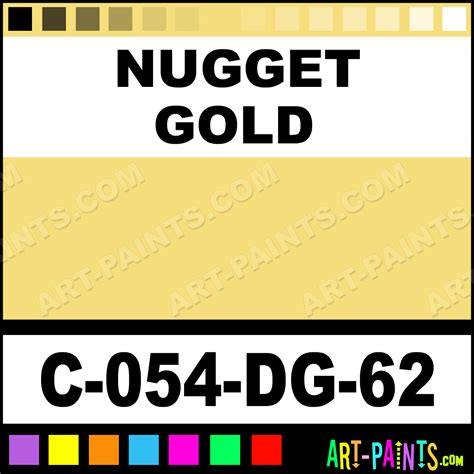 nugget gold deco gloss opaque ceramic paints c 054 dg 62 nugget gold paint nugget gold