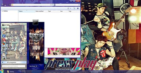 download themes kpop btob press play windows 7 theme download my kpop pc