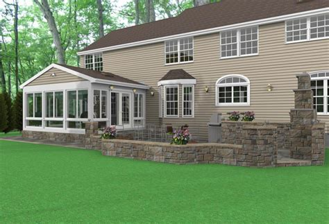 How Much To Build A Sunroom Nj Sunroom Design Tips Ideas Furniture And Colors